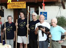 The Europa Compostella crew – our guests in 2010